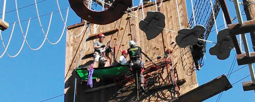 canyon rv park rv rope course